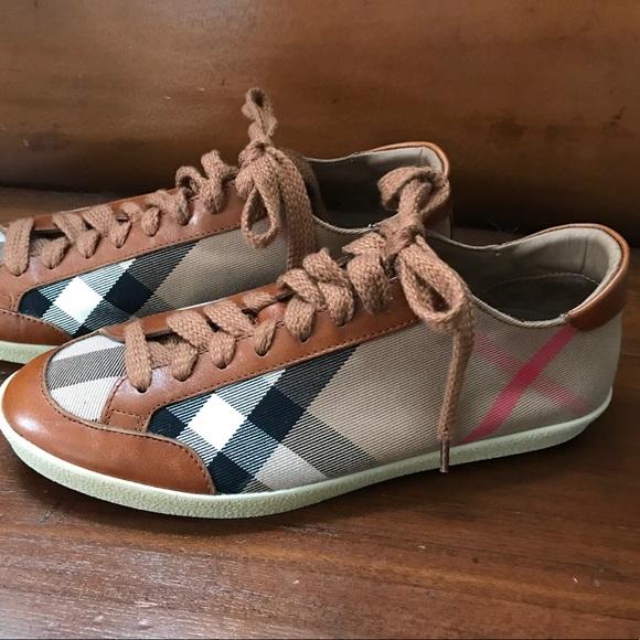 d689f0c1768 Burberry Shoes - BURBERRY Size 39 Womens 9 Sneakers Nova Check